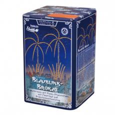 Blaublink-Brokat
