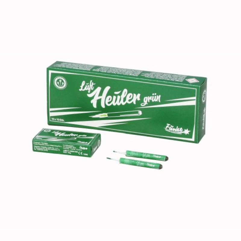 Luftheuler grün